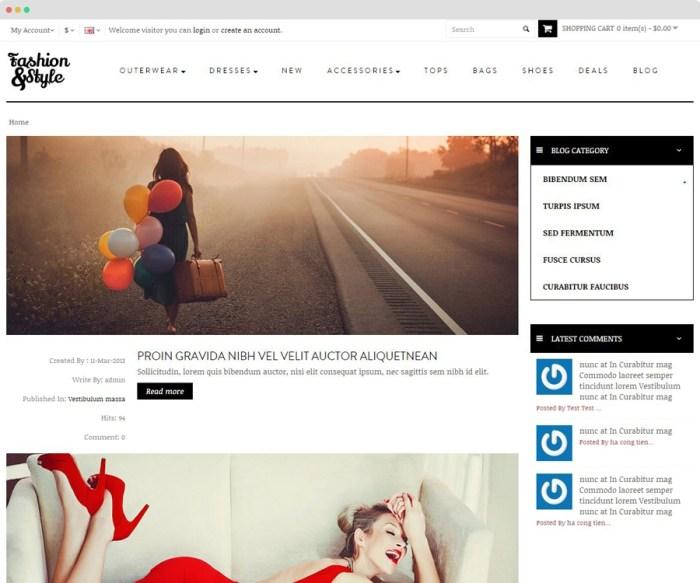 pav blog module