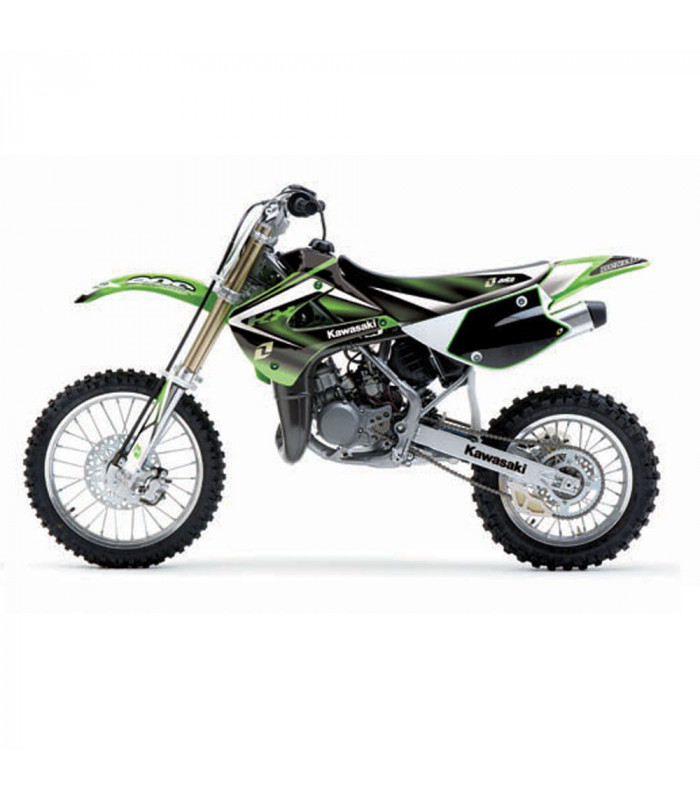 ONE INDUSTRIES GRAPHICS KIT KAWASAKI KX 85, KX 100 (2001