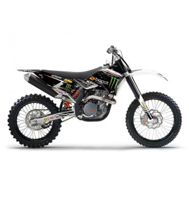 MONSTER/B MOVILE GRAPHICS KIT + SEAT COVER KTM 450 EXC, SX