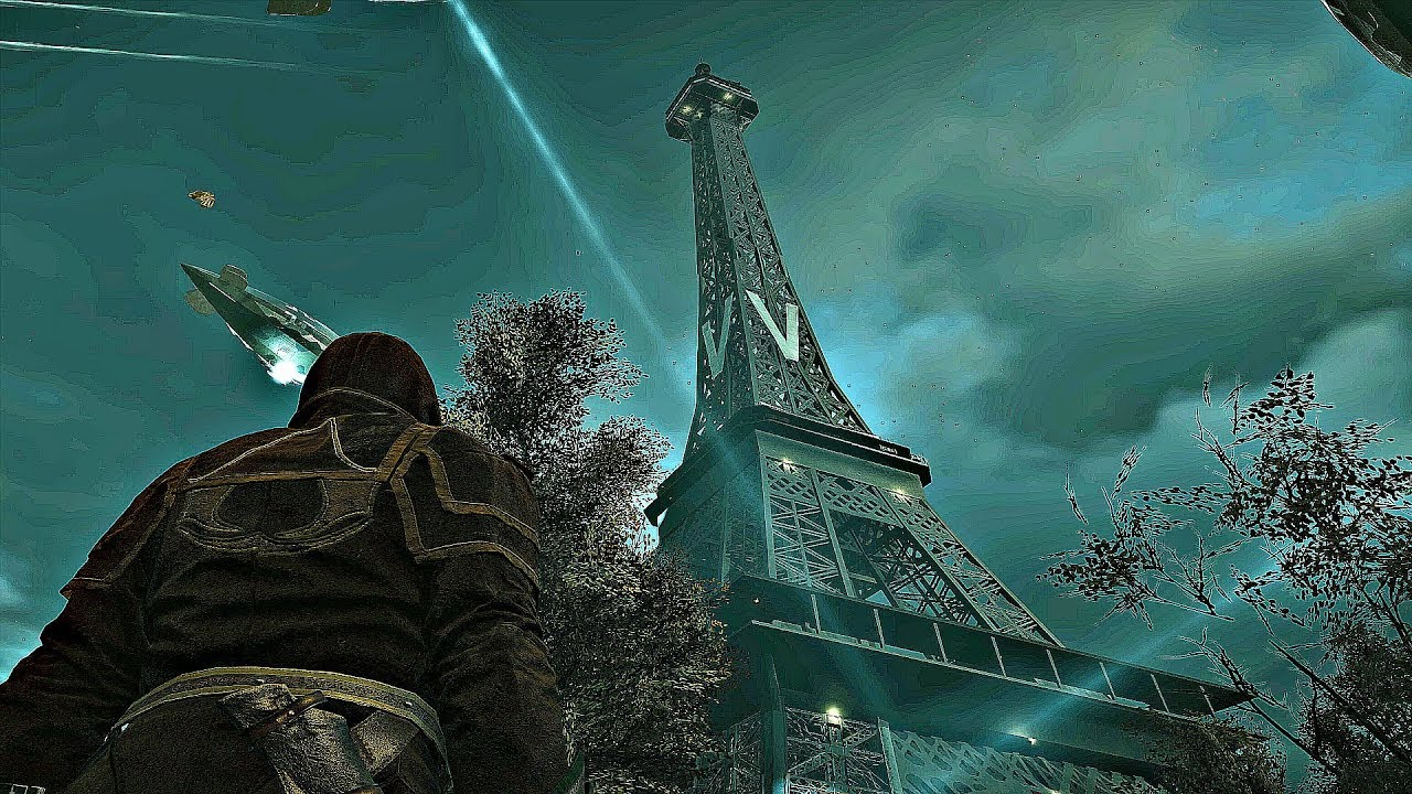 ASSASSIN'S CREED – WW2 Paris Gameplay (Climbing Eiffel Tower