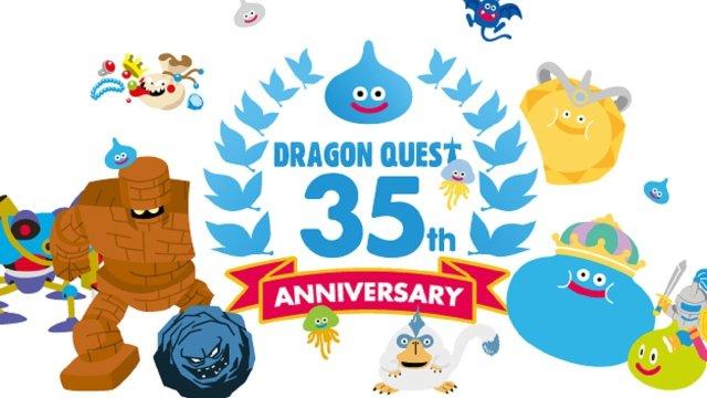 Transmisión en vivo del 35 aniversario de Dragon Quest