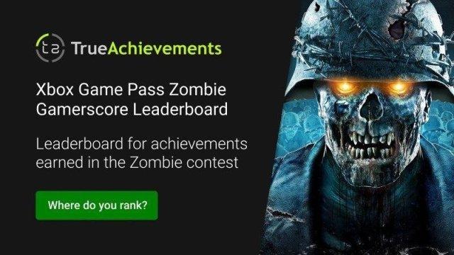 Concurso Xbox Game Pass Ultimate Juegos de zombis clasificados de mayo