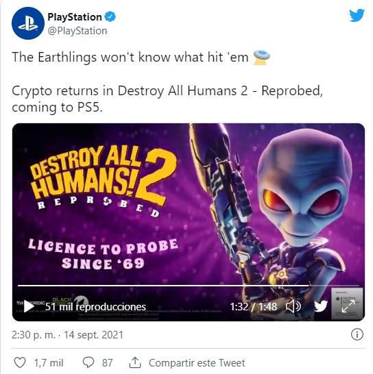 destruir a todos los humanos 2 PD Tweet