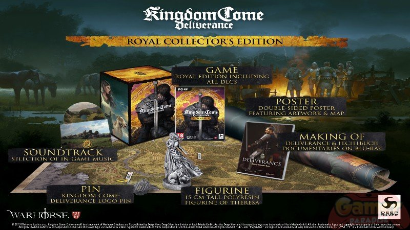 Details zur Royal Collector's Edition von Kingdome Come: Deliverance