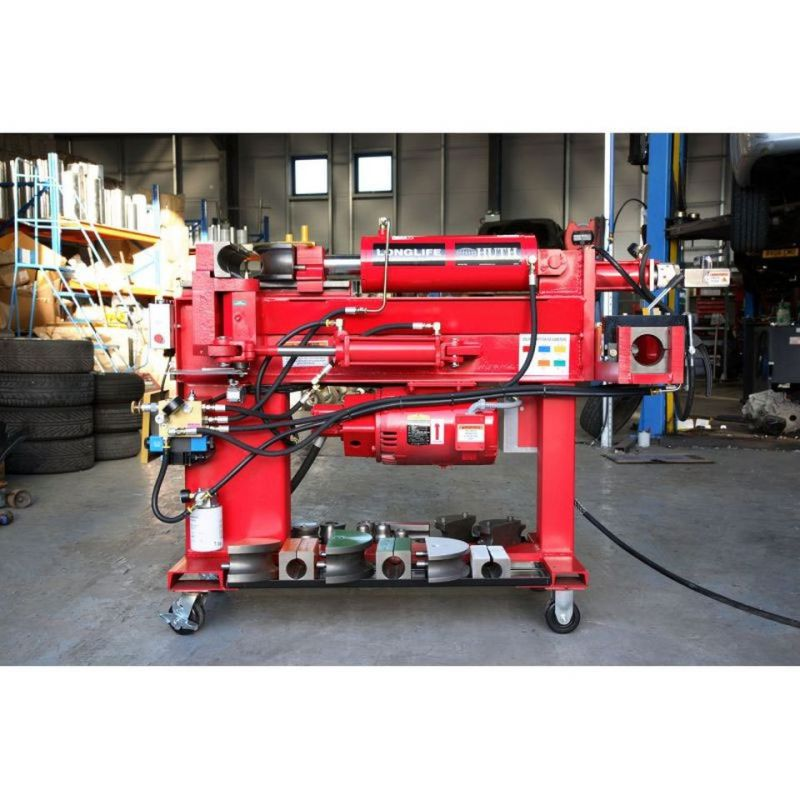 huth ss 300 heavy duty exhaust pipe bending machine