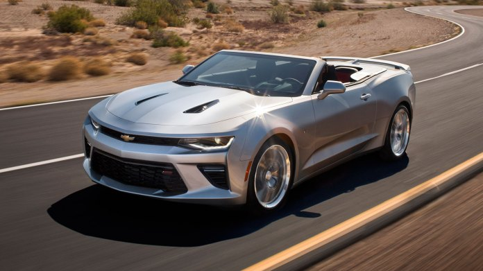 First Drive New Chevy Camaro Convertible Top Gear