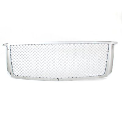 Chevy Suburban 2015-2018 Front Grill Chrome Mesh
