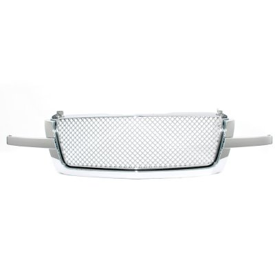 Chevy Avalanche 2003-2006 Front Grill Chrome Mesh