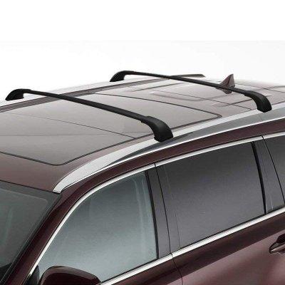 toyota highlander 2014 2019 roof rack crossbars
