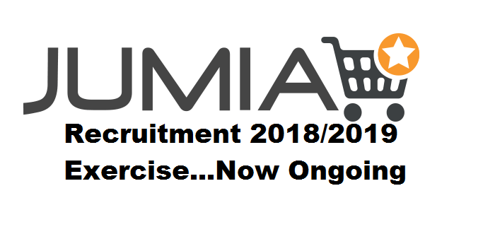 Jumia Recruitment 2018/2019 Exercise Now Ongoing / Apply Now