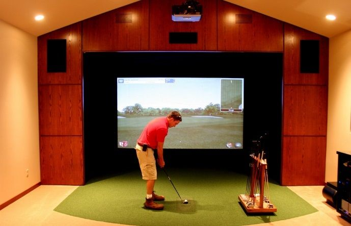 golf simulators for home prices