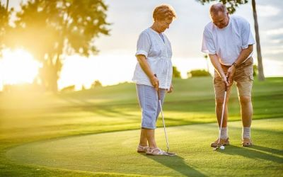 health benefits of golf