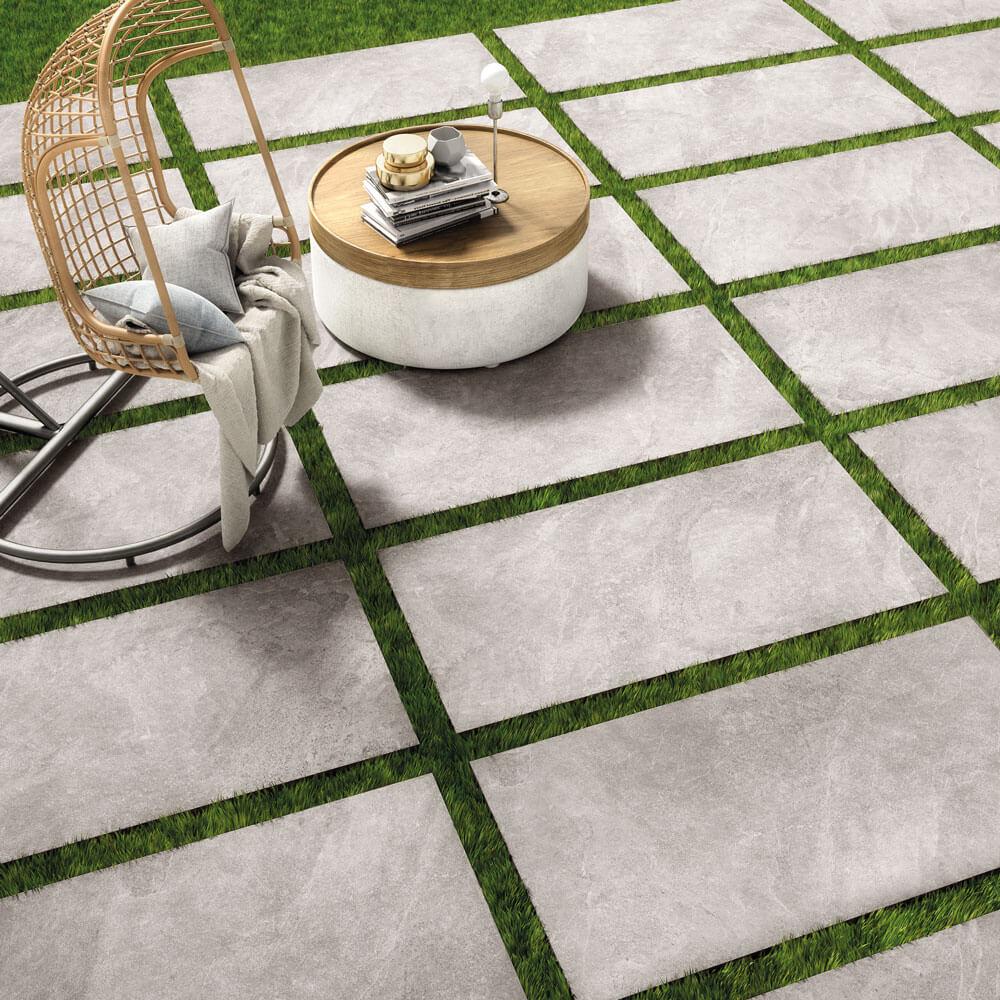 Terrassenplatten Verlegen | Feinsteinzeug Fã¼R Alle Auãÿenbereiche
