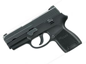 Sig Sauer P250 Sub-Compact. 9mm. Nitron. SigLite Night Sights. DAO - Top Gun Supply