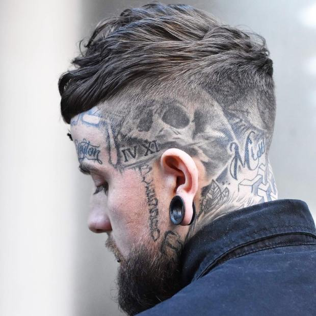 2018 Best Short Haircut For Men With Tattoo