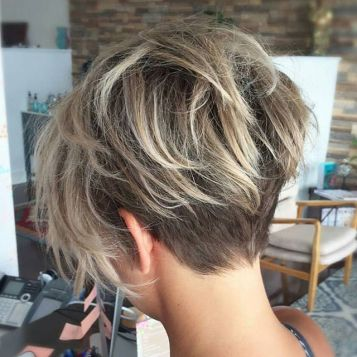 Back View Short Haircuts 21