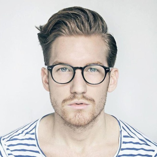 Blonde High Fade Hairstyle For Men 2018