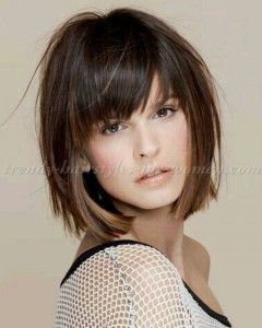Bob Hairstyles With Bangs 2018 1