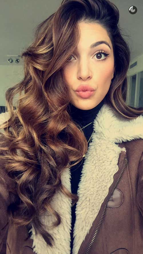 Curly Hairstyles For Long Hair 4