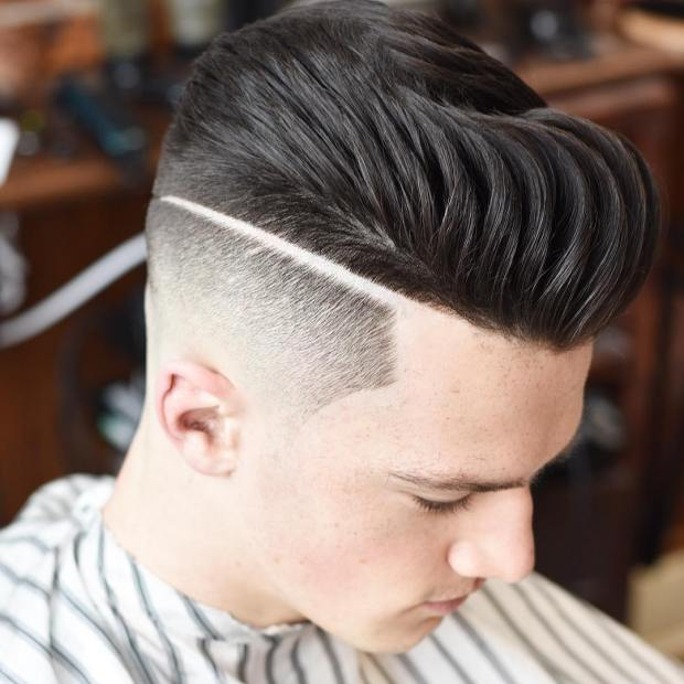 High Fade Short Haircut For Boys 2018