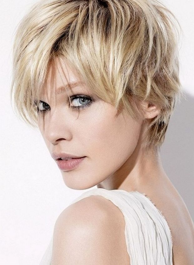 Messy Short Hairstyles For Women 18 - Haircuts + Hairstyles 2018