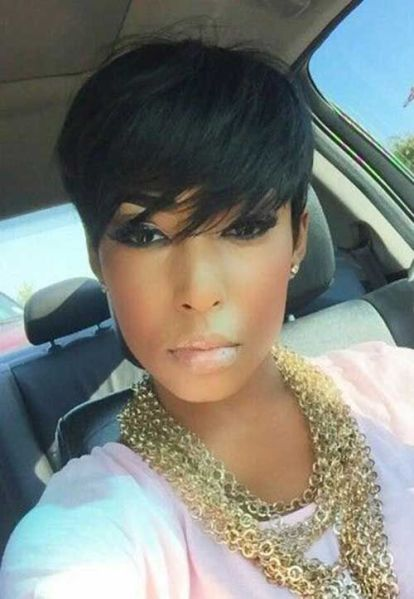 Pictures of short black hairstyles — pic 4