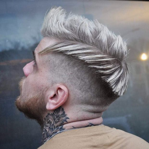 Short Blonde Haircut For Men