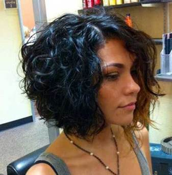Short Bob Curly Hairstyles 11