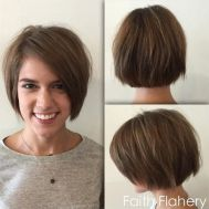 Short Haircuts For Girls 2018 Choppy Bob
