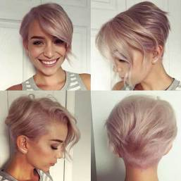 Short Haircuts For Round Faces 14