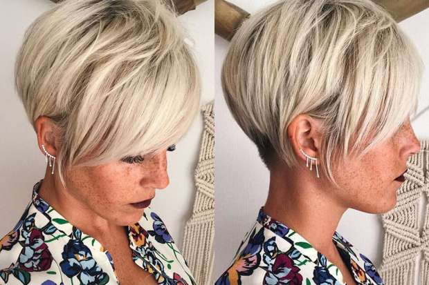 Short Hairstyle For Blonde Hair - Best Image of Blonde Hair 44