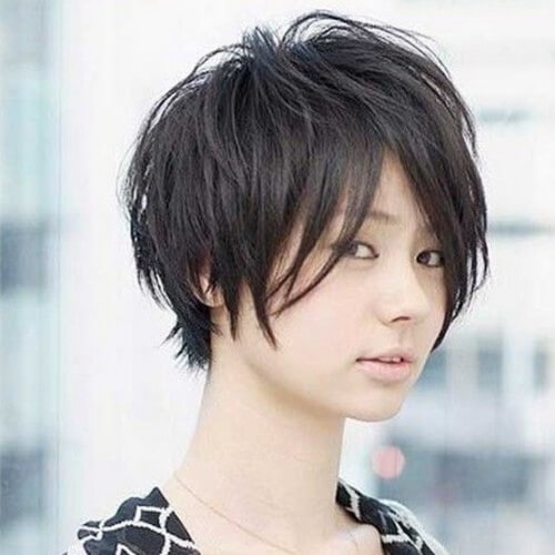 Short Hairstyles For Round Faces 2018 29