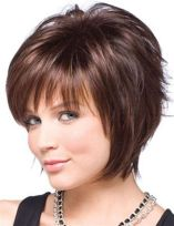 Short Hairstyles For Round Faces 2018 6