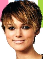 Short Hairstyles For Round Faces 24