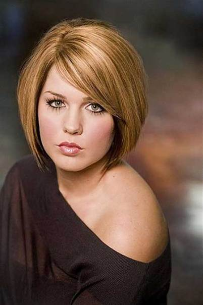 Short Hairstyles For Round Faces 4