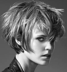 Short Messy Hairstyles 2018 5