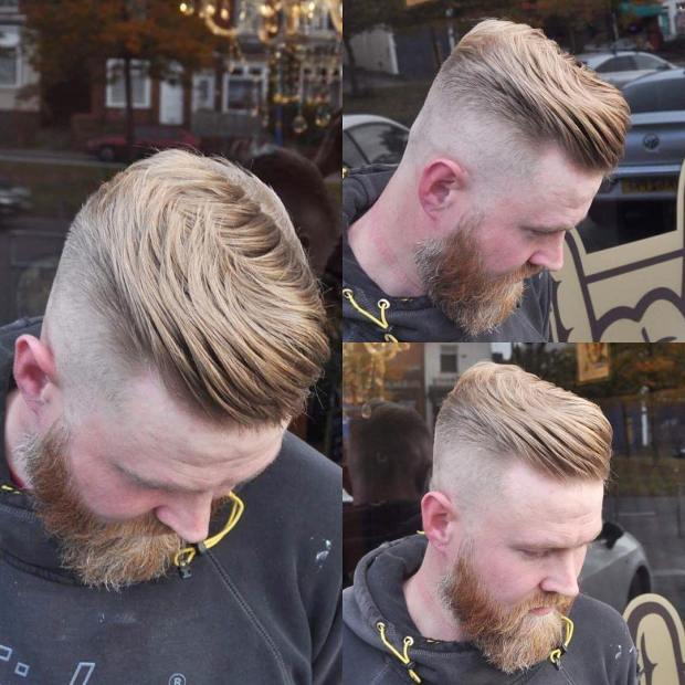 Short Pompadour Haircut 2018