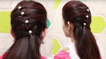 Simple Hairstyles For Girls 14