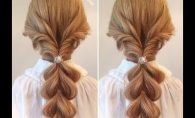 Simple Hairstyle For Girl Hairstyle Simple For Party And Hairstyles For School Hairstyle