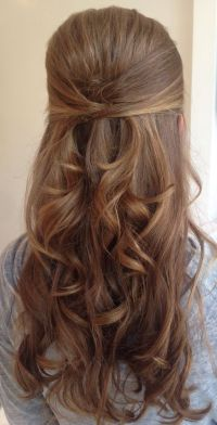 Half Up Half Down Wedding Hairstyles 3