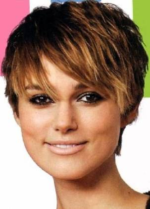 Short Haircuts For Round Face Shape 28