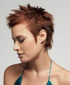 Spiky Haircuts For Women 6