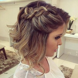 Wedding Guest Hairstyles Short Hair Awesome Gallery Of Wedding Guest Hairstyles For Short Hair Viewing