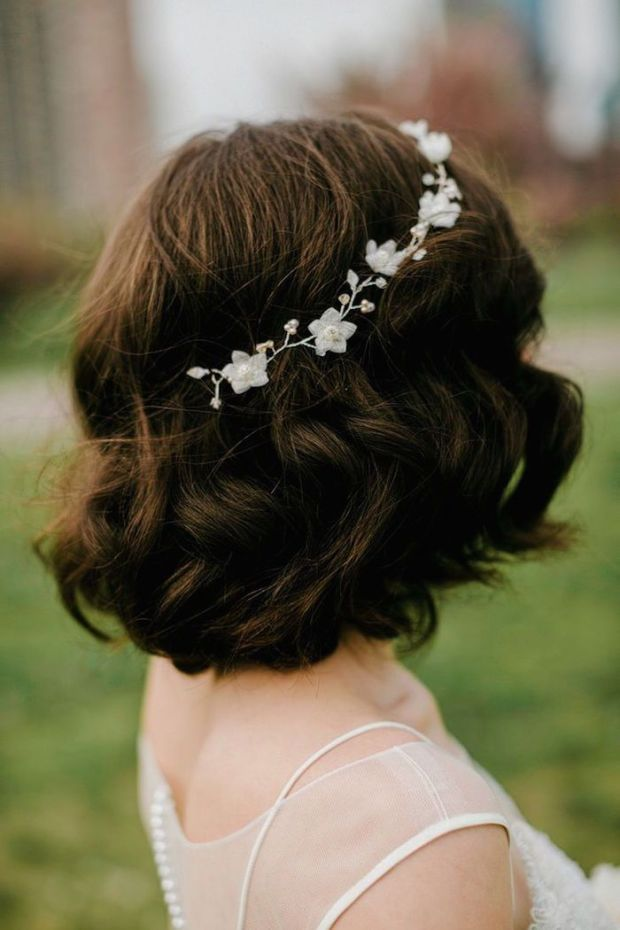 Wedding Hairstyles For Short Hair 2
