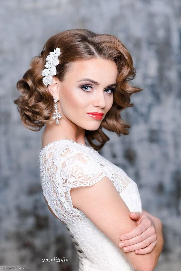 Wedding Hairstyles For Short Hair - Famous Hair Style 2018