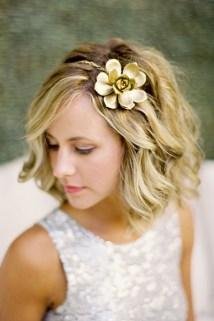 Wedding Hairstyles For Short Hair 25