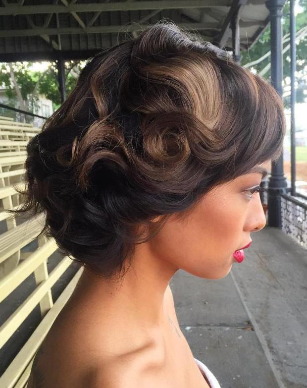 Wedding Hairstyles For Short Hair 3