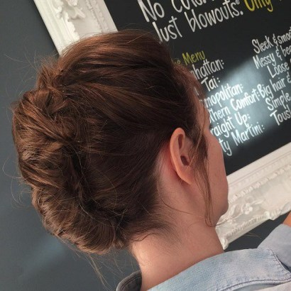 1 Casual Updo For Long Hair