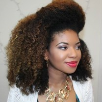 12 Medium Natural Hairstyle