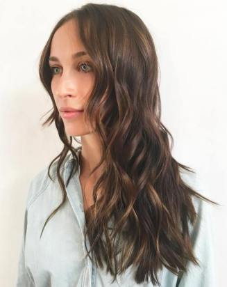 13 Brown Hair With Subtle Chocolate Highlights